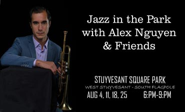 SPNA Jazz in the Park with Alex Nguyen & Friends poster