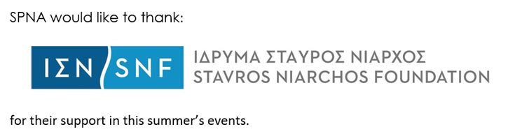 SPNA Thanks Stavros Niarchos Foundation