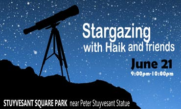SPNA Stargazing with Haik and friends poster