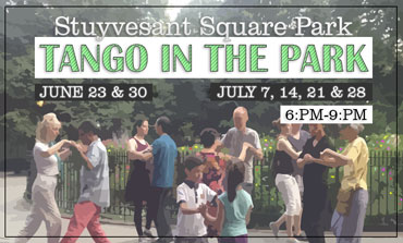 SPNA Tango in the Park poster