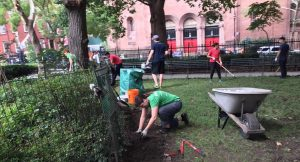 SPNA volunteers helping