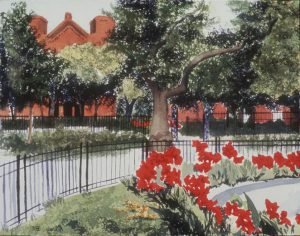 Summer Scene Stuyvesant park