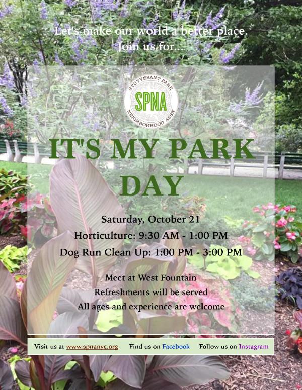 SPNA: It's My Park 2017