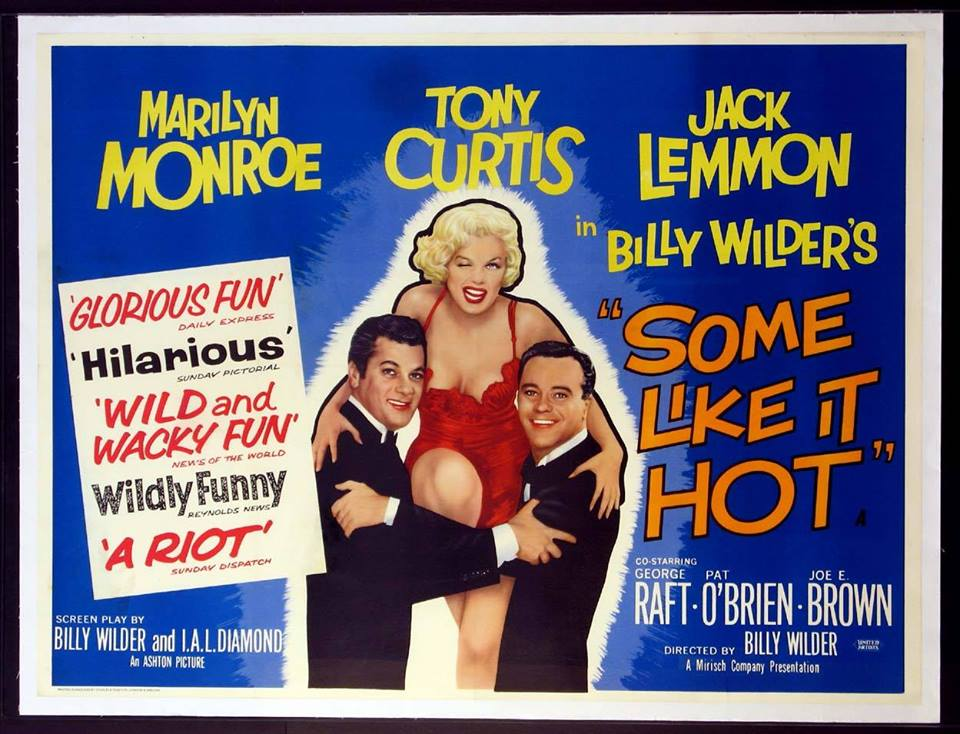 Summer Outdoor Movie Night: Some Like It Hot Poster