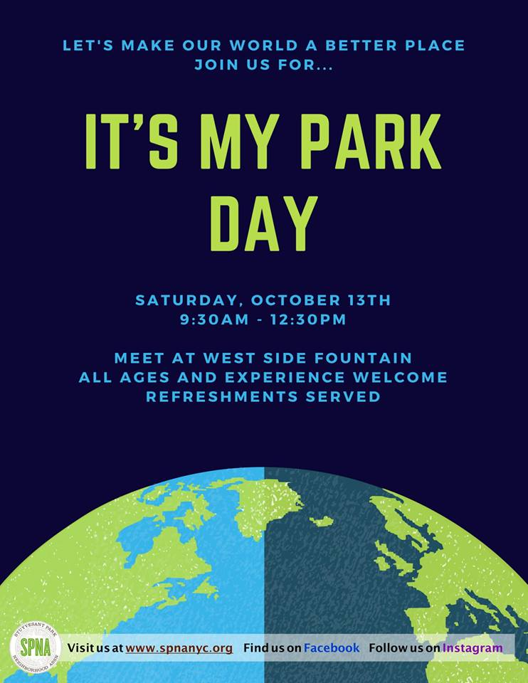 It's My Park Day - Stuyvesant Square Park flyer