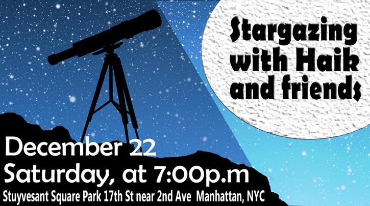SPNA - Stargazing at Stuyvesant Square