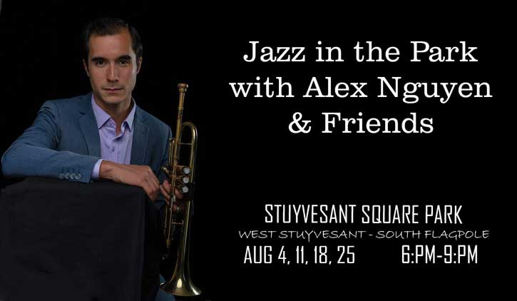 SPNA - JAZZ IN THE PAR WITH ALEX NGUY & FRIENDS