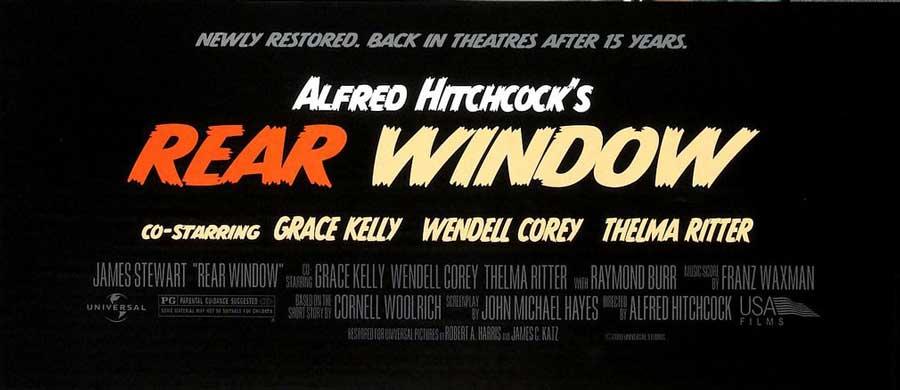 Summer Outdoor Movie Night: Rear Window