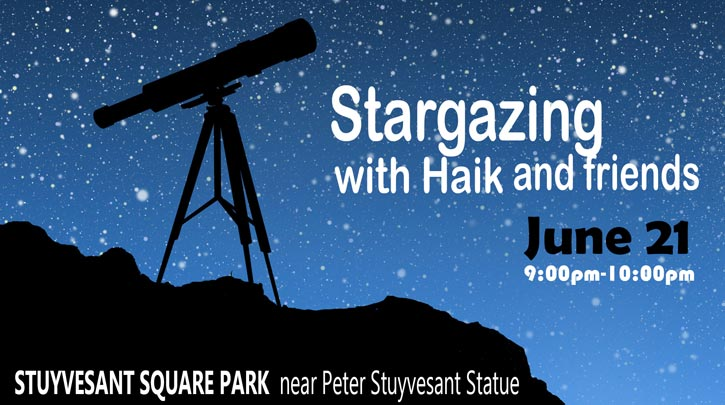 SPNA - Stargazing with Haik and friends.