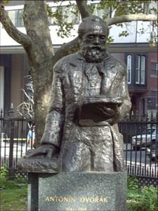 Stuyvesant Park Statue Dvorak