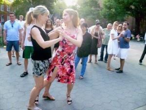 Jennifer Wesnousky demonstrating with a student